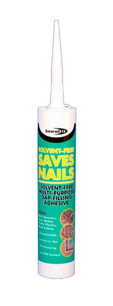 300ml Bond It White Saves Nails Sf - Solvent-Free