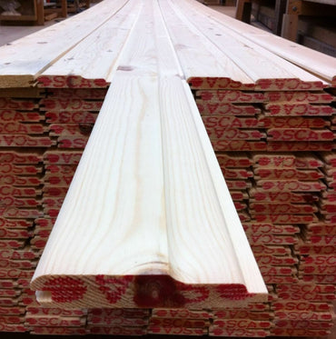 SHIPLAP CLADDING PINE T&G REDWOOD (110x20) £1.45 P/M INC VAT!
