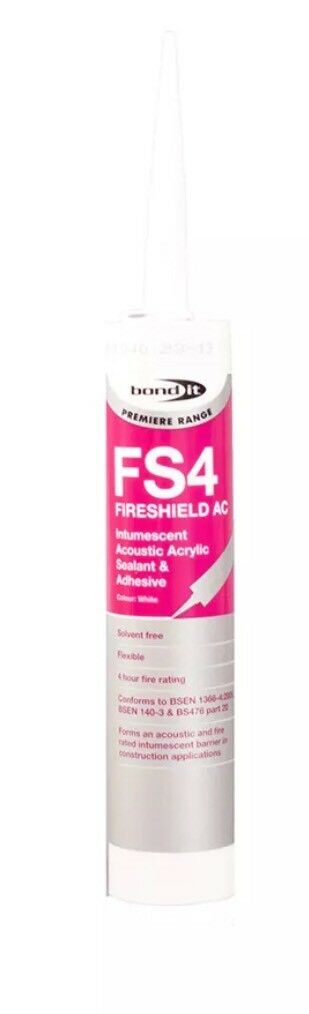 Bond It White Eu3 Fs4  Fireshield Ac Intumescent Acrylic