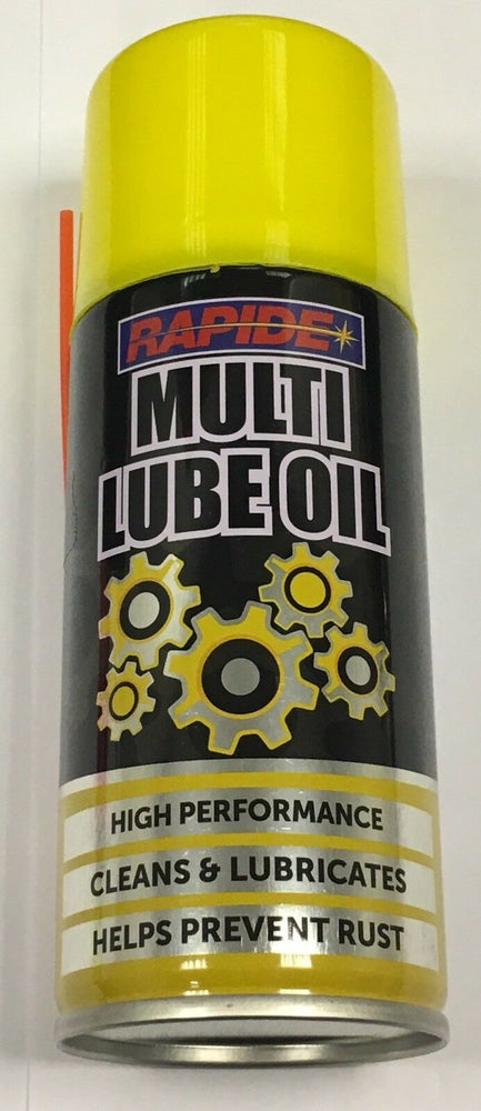6 x New 200ml Multi-Lube Oil Spray Lubricant Cleans Rust Protection Car Bike DIY