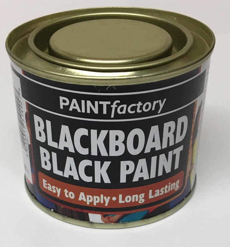 3 x Black Blackboard Chalk Board Matt Paint 170ml Can!!