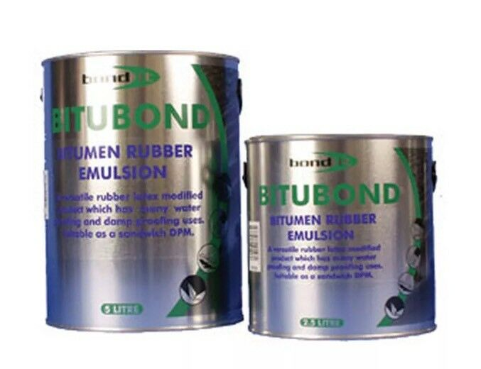 Bond It Black 5L Rubber Bitumen Emulsion