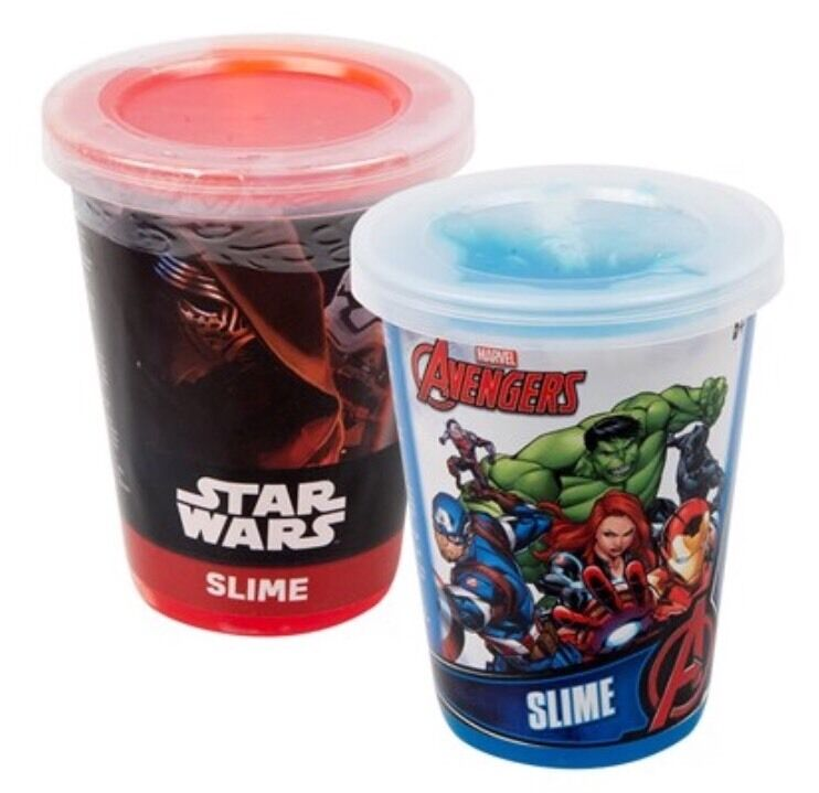 SLIME Kids Novelty Star Wars/Avengers Party  Bag Favors Birthday Gift Filler Toy