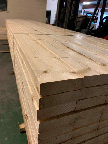 6X2 C16 TIMBER JOIST 4.8M - £18.50 PER LENGTH INC VAT