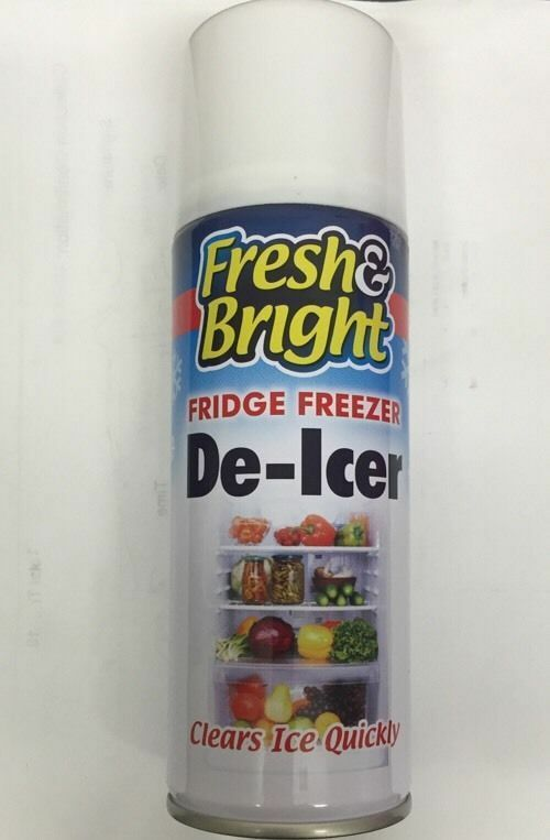 4 x Multi Direction Fridge Freezer Defrost Clean Antibacterial Ice Melt DE-ICER