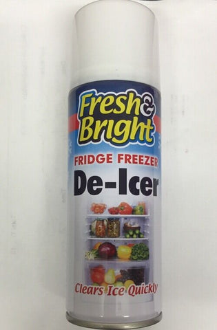 2 x Multi Direction Fridge Freezer Defrost Clean Antibacterial Ice Melt DE-ICER