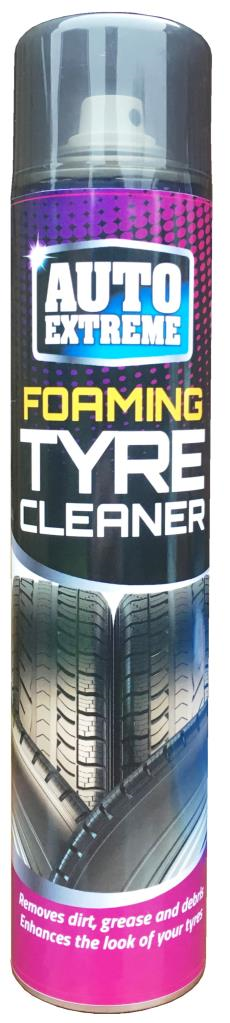 Professional Tyre Cleaner Restorer Spray Foam  370ml FOAMING TYRE