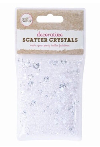Scatter Wedding Decoration Scatter Table Crystals Diamonds Acrylic Confetti