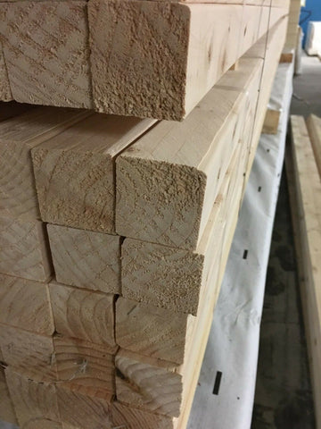 2X2 PLANED EASY EDGE TIMBER 47X50 50 METERS (11  X 4.8M LENGTHS)