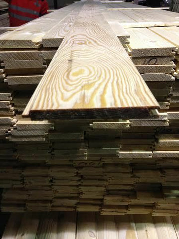 500 METERS PINE MATCHBOARD CLADDING 110 X 13MM