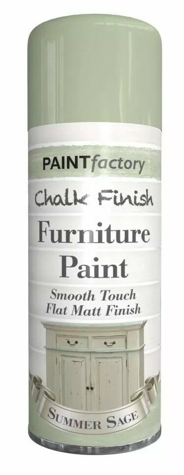 Summer Sage Chalk Furniture Paint Spray Smooth Touch Matt Finish Shabby Chic
