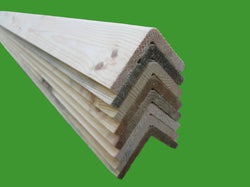 2.4m Pine Timber Corner Angle bead 4 LENGTHS!! -  45mm x 45mm PERFECT FOR SHEDS!