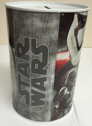 STAR WARS MONEY TIN GREAT PRESENT BIRTHDAY GIFT SAVERS MONEY SEALED TIN