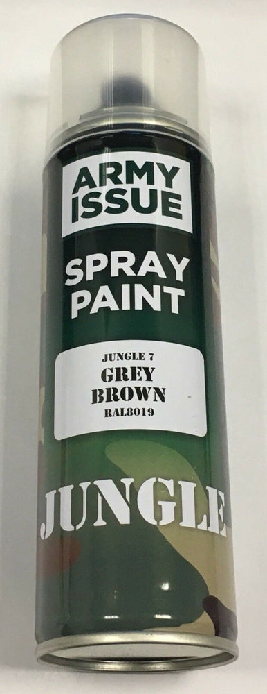 2 x Army Camouflage Combat Fishing Auto Spray Paint Colours 250ml GREY BROWN