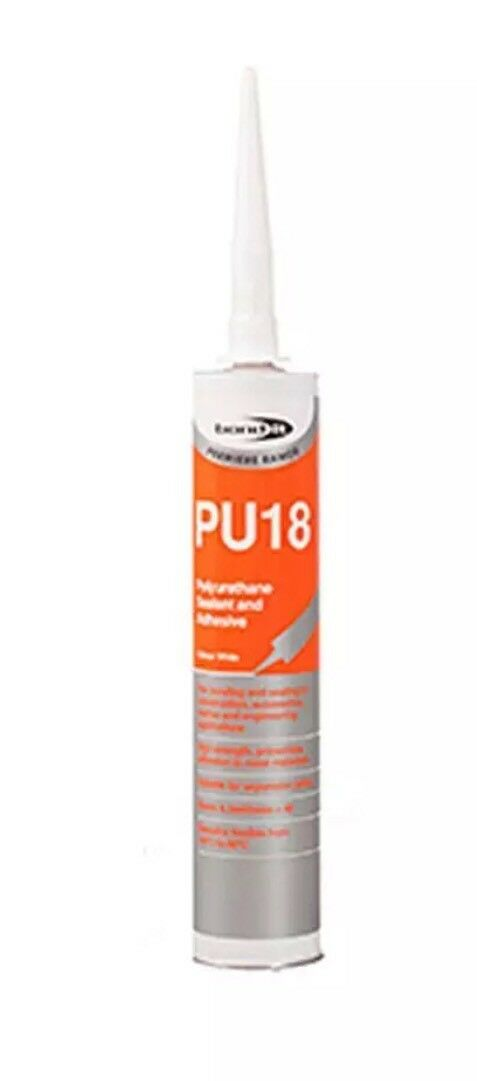 300ml Bond It White Pu18 Sealant/Adhesive Polyurethane EU3