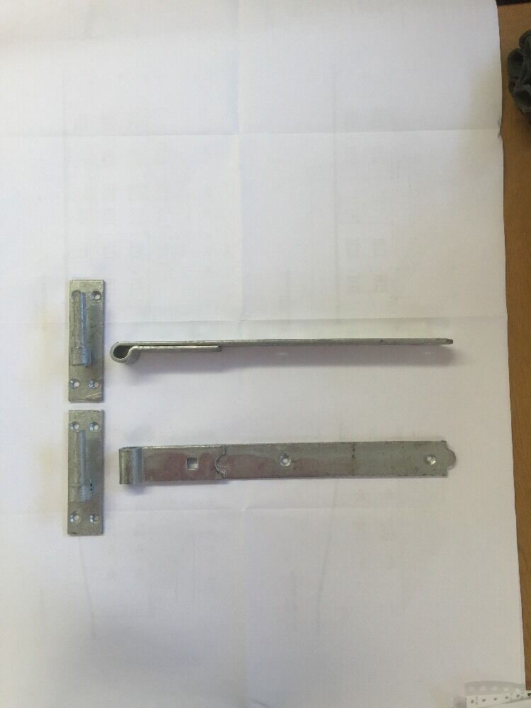 Gate Hinges Straight 350mm 14