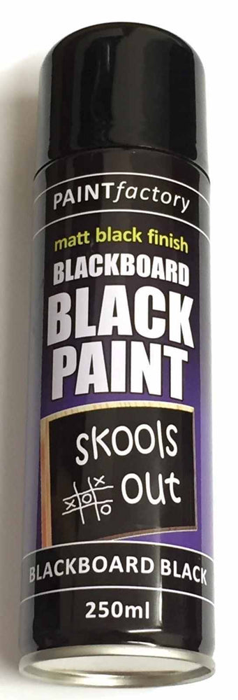 3 x BLACKBOARD Black Chalk Board Chalkboard Spray Paint Can Matt School Aerosol