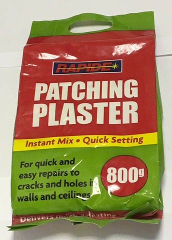 Patching Plaster Bag 800G Quick Set Instant Mix Walls Cracks Holes