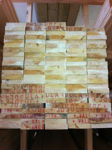 4x1 PSE PLANED PINE TIMBER (94x20) ONLY £1.25 PER METER INC VAT!