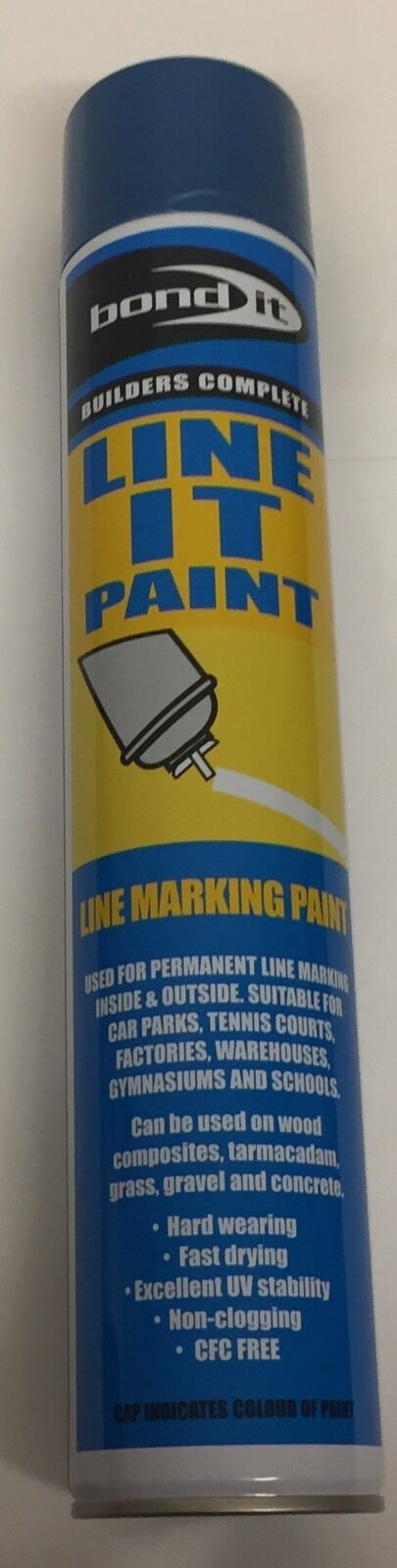 Bond It - Line Marker Paint Blue