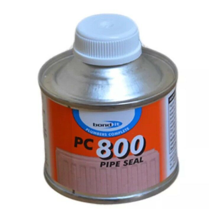 RIGID PVC ABS PIPE WELD CEMENT PC800 PIPESEAL 125ML