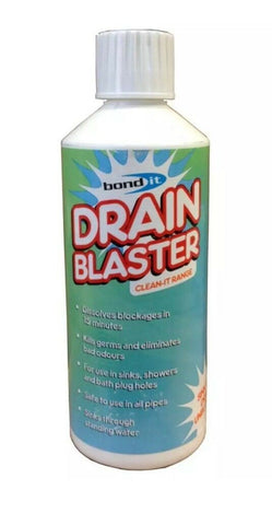 Drain Blaster sink & drain unblocker - shower sink pipe drain cleaner Bond It