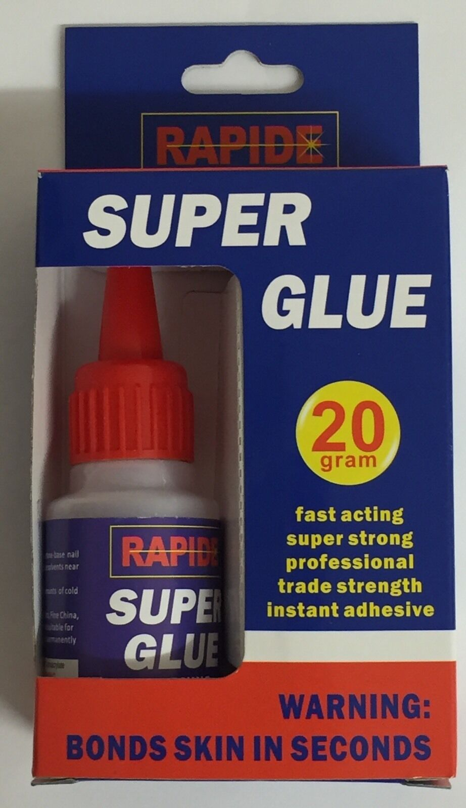 SUPER GLUE 20G ADHESIVE ULTRA STRONG PROFESSIONAL BRAND NEW