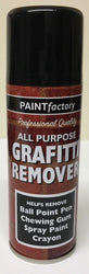 4 x 200ml Graffiti Remover Aerosol Can Chewing Gum, Pen, Spray Paint,Crayon Etc.