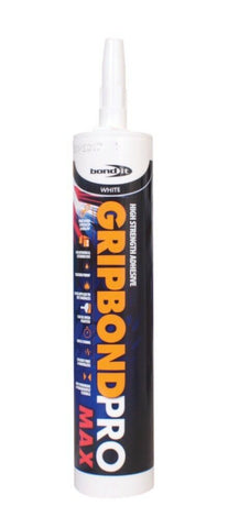 GripBond Pro Bond It Contact Adhesive No Nails Max Strength Interior Exterior
