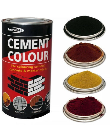 1Kg Buff Powdered Cement Dye Bond It Building Supplies