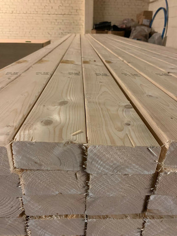 4X2 GRADED C24 EASY EDGE 100X47 4.8M PRICE PER LENGTH £9 INC VAT