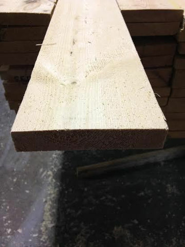 PINE TIMBER 5X1 ROUGH SAWN 125X25 50 METERS JUST £1.20 per meter!