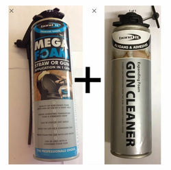Bond It - Mega Foam 500ml Gun Grade & Expanding foam gun cleaner 500ml