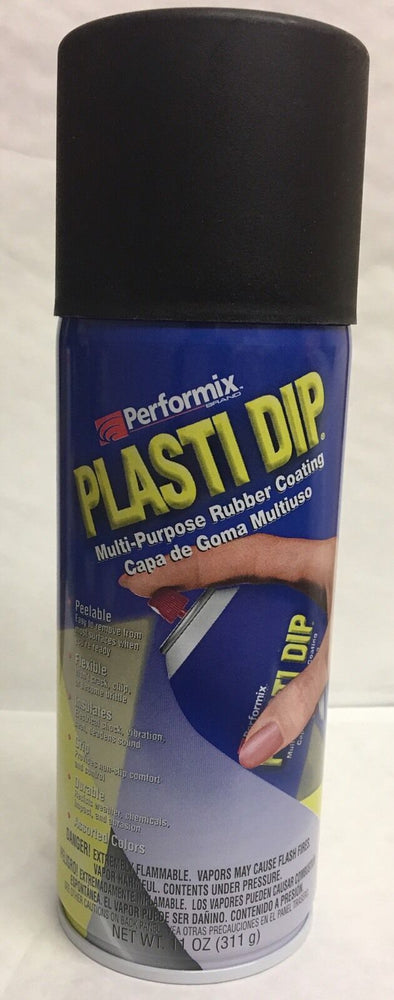 PLASTIDIP PLASTI DIP PLASTIC/RUBBER PAINT SPRAY CANS AEROSOL 311G BLACK MATT