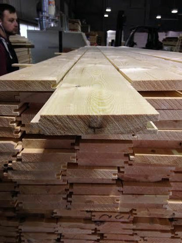 Pine Timber T&G Floorboard 110 X 20mm 100 METERS (42 @ 2.4M) INC DELIVERY