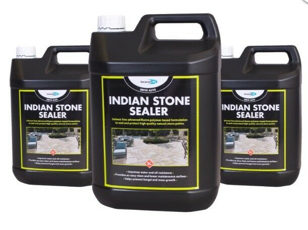 5L Indian Stone Sealer & Natural Stone Patios prevents funagal & moss growth