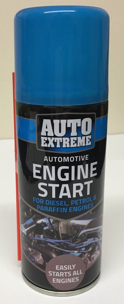 4 x AUTO EXTREME ENGINE START 200ML SPRAY CAR TRUCK PETROL & DIESEL EASY START