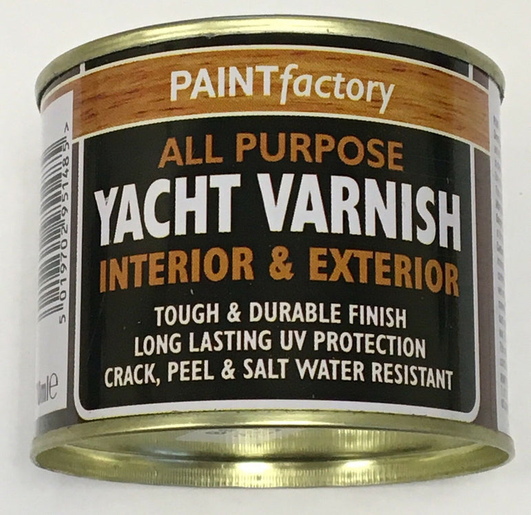 5 x Yacht Varnish All Purpose Household DIY Paint 170ml Can!!