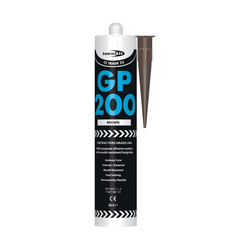 Bond It EU3 GP200 GENERAL PURPOSE LMA Silicone Sealant BROWN