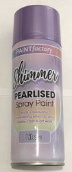 Shimmer Pearlised Paint Spray 400ml Aerosol Lilac