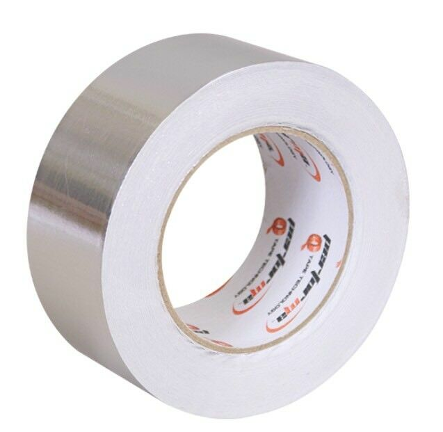 BOND IT ALUMINIUM TAPE SELF ADHESIVE TAPE 50MM X 45M NON CE