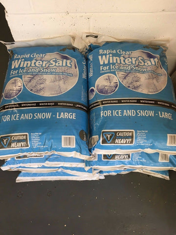 LARGE 20KG BAGS OF ROCK SALT / WINTER SALT SNOW AND ICE COLLECTION ONLY!!!