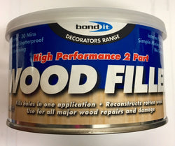2 X LIGHT OAK BOND IT 2 PART HIGH PERFORMANCE WOOD FILLER INTERIOR EXTERIOR USE