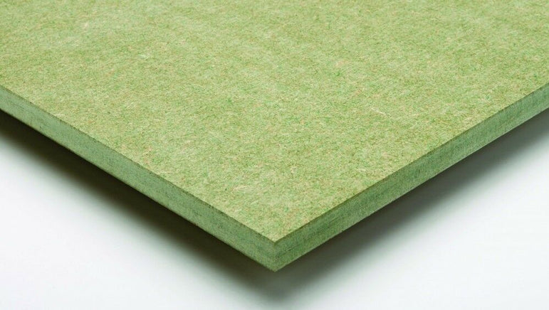 18mm Green Moisture Resistant MDF Sheet 2440 x 1220 8FT x 4FT