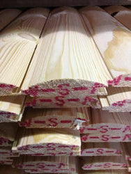 T&G LOGLAP CLADDING TIMBER 85X22 - 500 METERS INC DELIVERY TO LONDON AREA!