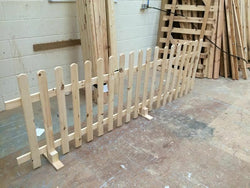 Wooden Picket Fence Gate- 3ftx4ft planed timber smooth finish