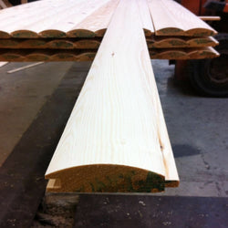 Pine Timber T&G Loglap Cladding 85 X 22mm 2.4MTR X 30 Lengths INC DELIVERY