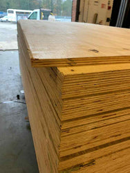 18MM SOFTWOOD SHUTTERING PLYWOOD 8FT X 4FT