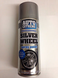 2 X Auto Spray Paint Silver Wheel 400ml Cars And Vans
