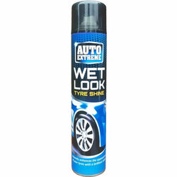 1 x Auto Professional Wet Look Tyre Shine Restorer Spray Car Rubber 300ml